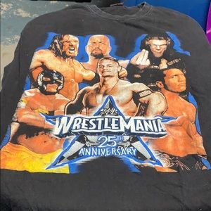 Wrestle Mania 25th Anniversary Tee XXL